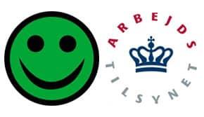 Grøn smileys Rengøring